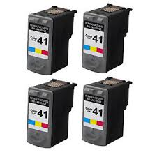 Compatible Canon CL-41 Tri-Color Inkjet (4/PK-312 Page Yield) (DTCL41)