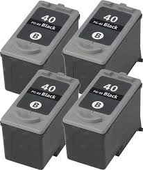 Compatible Canon PG-40 Black Inkjet (4/PK-329 Page Yield) (DTPG40)