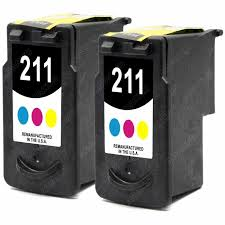 Compatible Canon CL-211 Color Standard Capacity Inkjet (2/PK-244 Page Yield) (CL-2112PK)