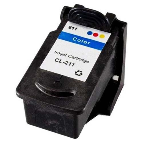 Compatible Canon CL-211XL Color High Capacity Inkjet (2/PK-349 Page Yield) (CL-211XL2PK)
