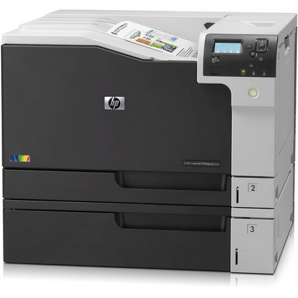 Refurbish HP Color LaserJet Enterprise M750N Wide Format Color Laser Printer/Toner Value Bundle Pack (D3L08A-RC) (Certified Recertified)