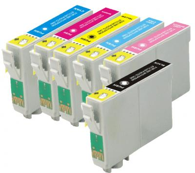 Remanufactured Epson NO. 79 Inkjet Combo Pack (BK/C/M/Y/PC/PM) (T079120BCS)